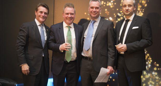 Frank Gleeson wins industry accolade