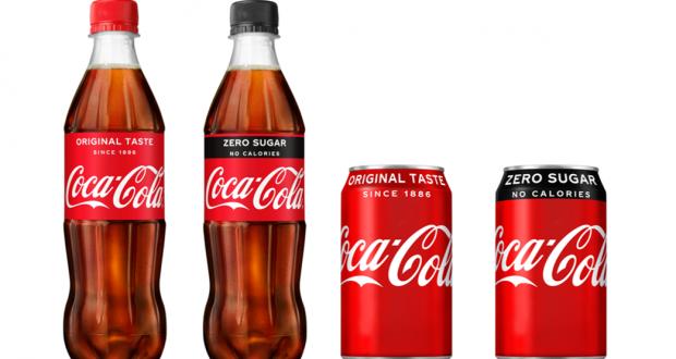 Coke Zero goes red