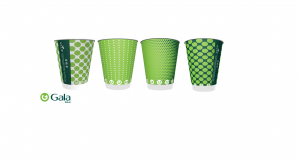 Gala launches recyclable cups