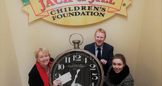 Gala donates €10,000 to Jack & Jill