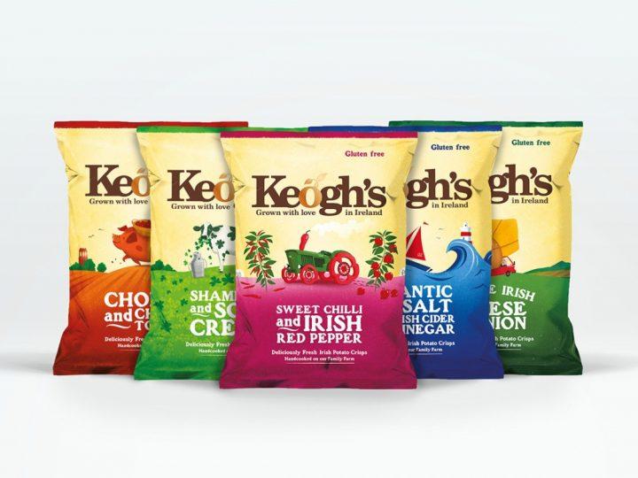 Keogh's Crisps Launch In NI