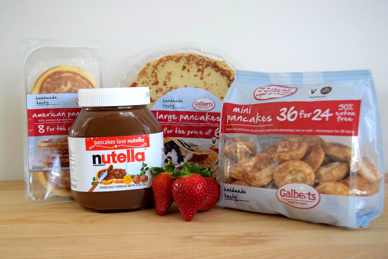 Galberts to partner with Nutella on Pancake Day Campaign