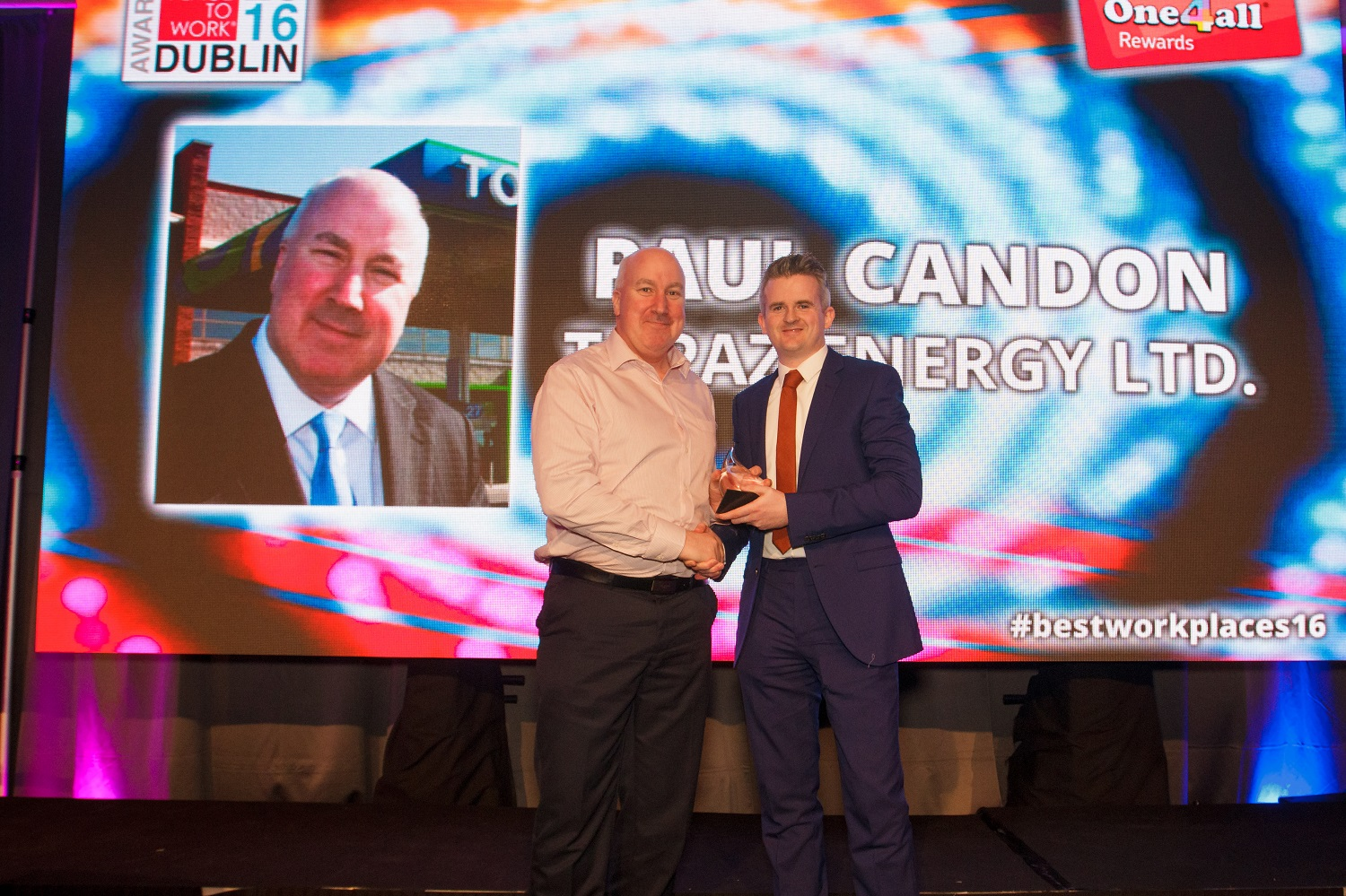 Topaz awarded workplace prize for 11th year