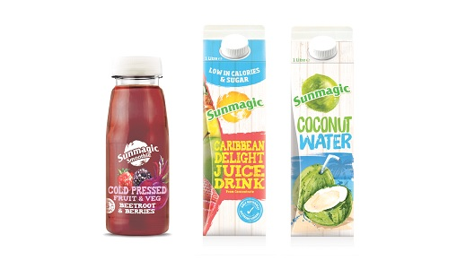 Sunmagic launches healthy drink trio
