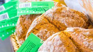 Fresh bread in-store