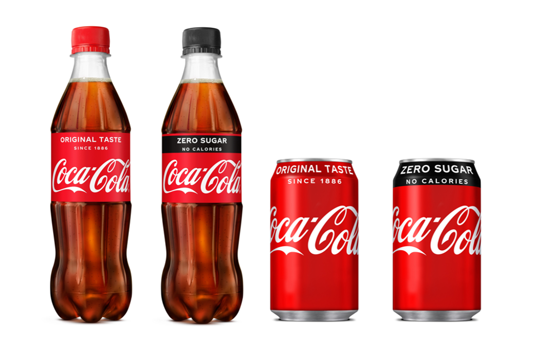 Coca-cola extends iconic 'red' to coca-cola zero sugar packs