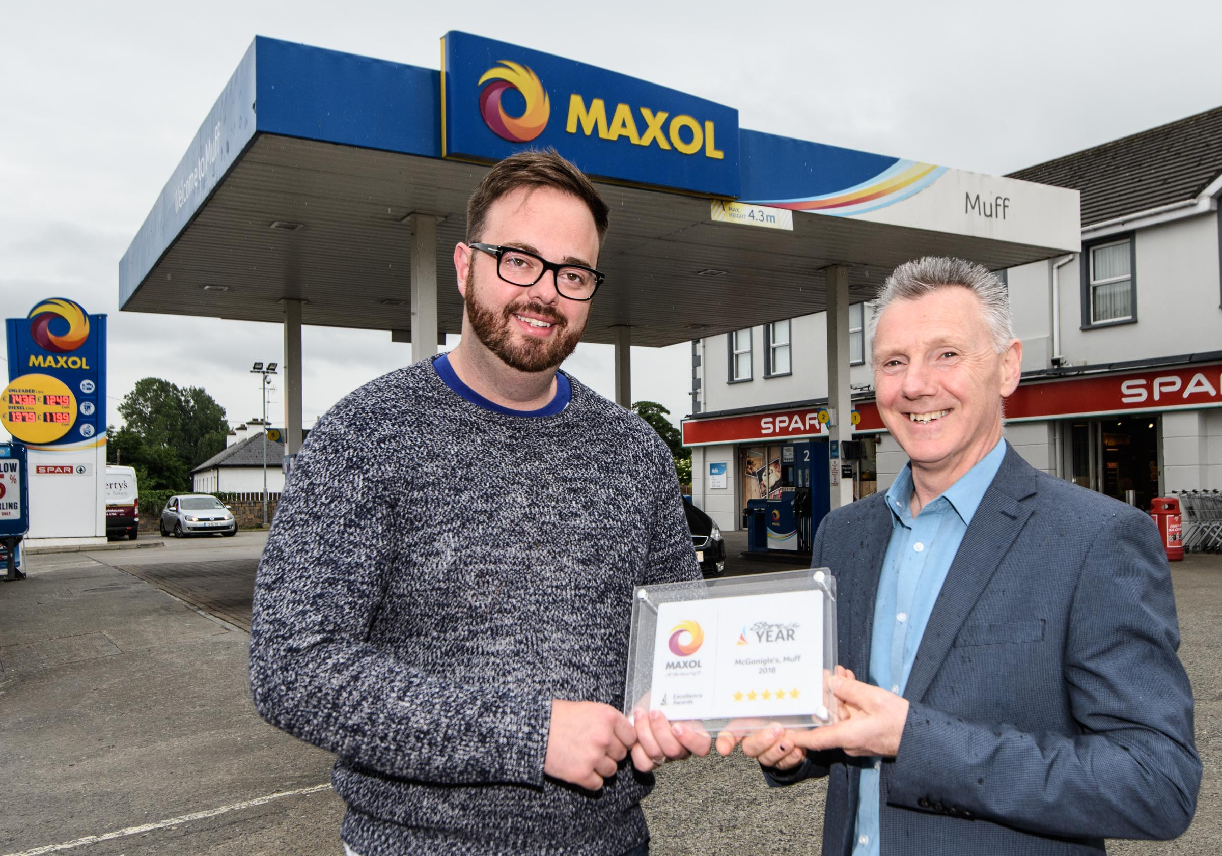 Second consecutive win for McGonigle's Maxol Service Station