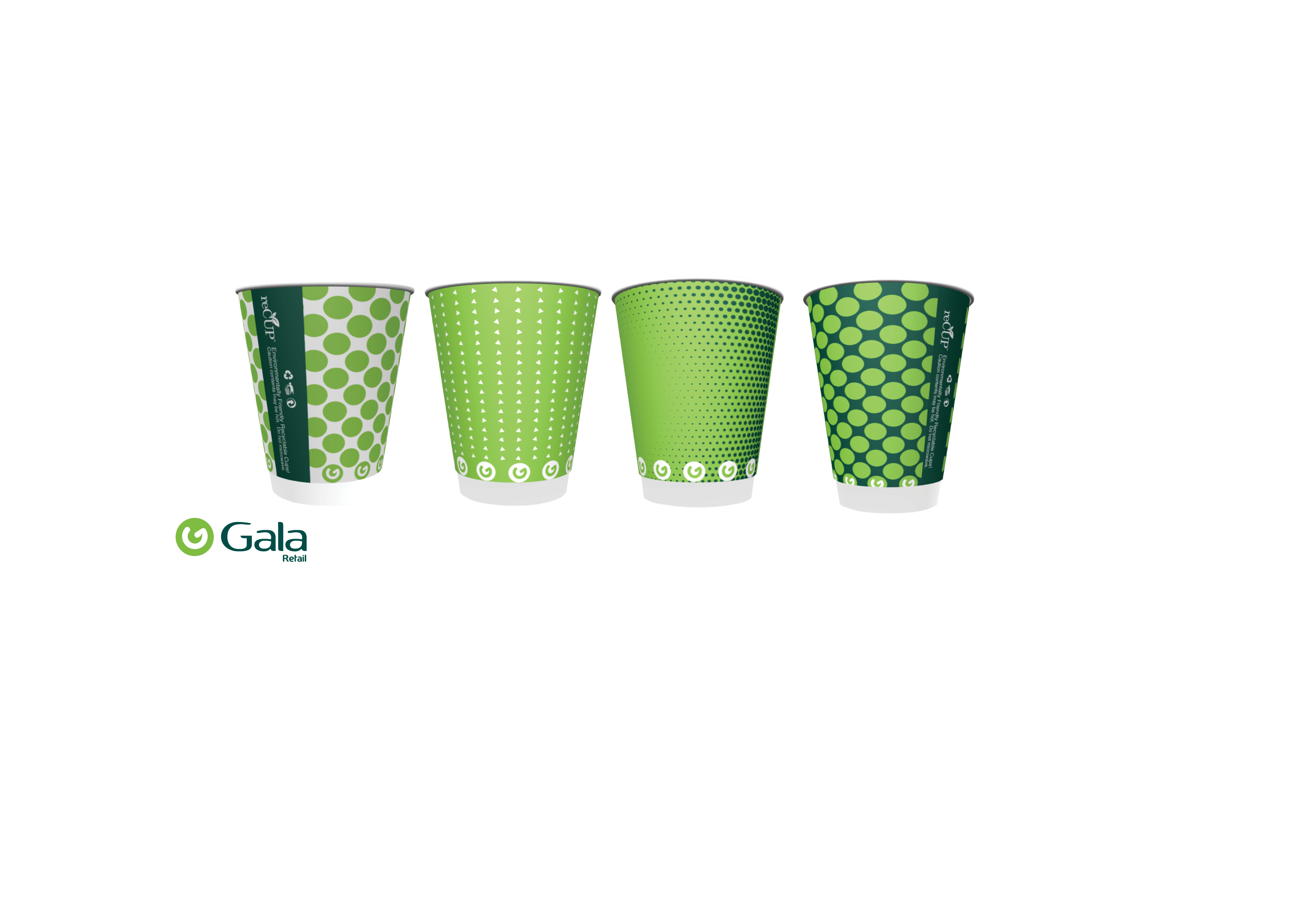 Gala introduces recyclable takeaway cups