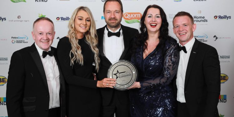 Retailer of the Year Award goes to Lee's Centra Applegreen, Co. Cork