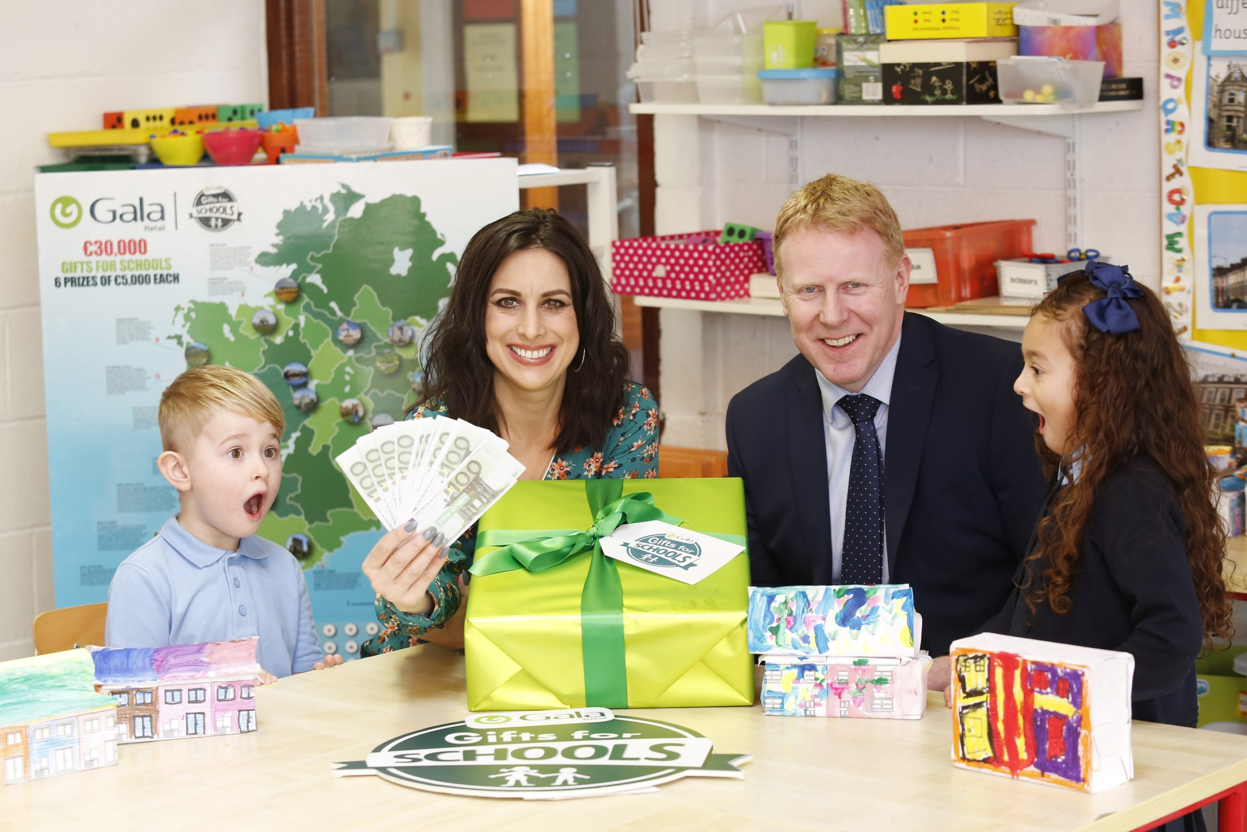 €30,000 of 'Gala' Gifts for primary schools