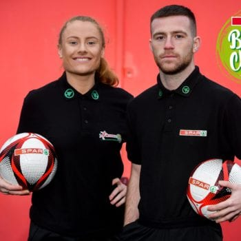 Spar join forces with FAI to encourage healthy eating