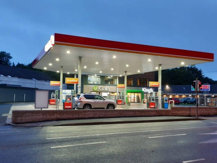 New showcase convenience store and forecourt for King's Gala