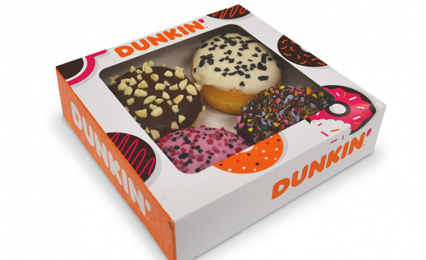 Pre-packaged Dunkin Donuts are now available in BWG stores