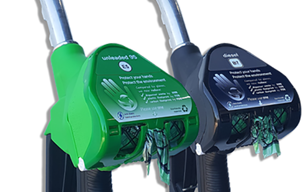 Grip Hero's Award Winning Nozzle Mounted Dispensers