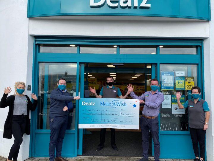 Dealz digs deep for Make-A-Wish Ireland