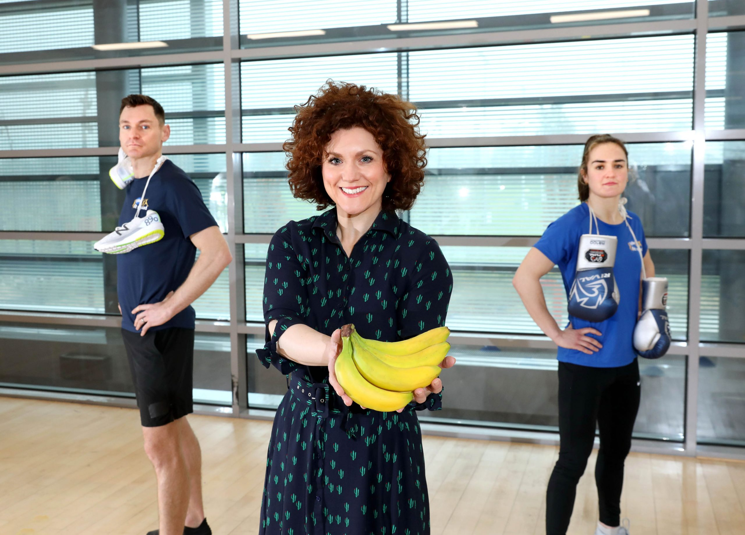 Sports Stars Sign-Up for Fyffes Fitness Programme