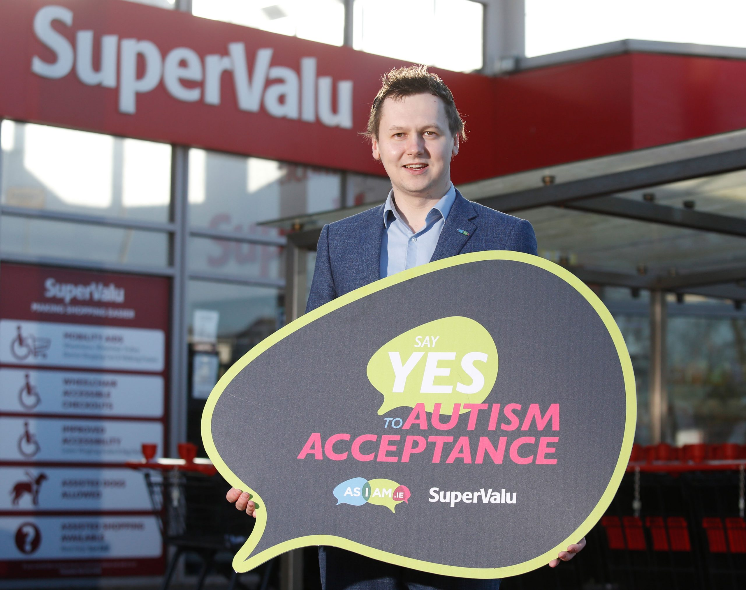 """SuperValu & AsIAm launch """"Say yes to autism acceptance"""" campaign"""
