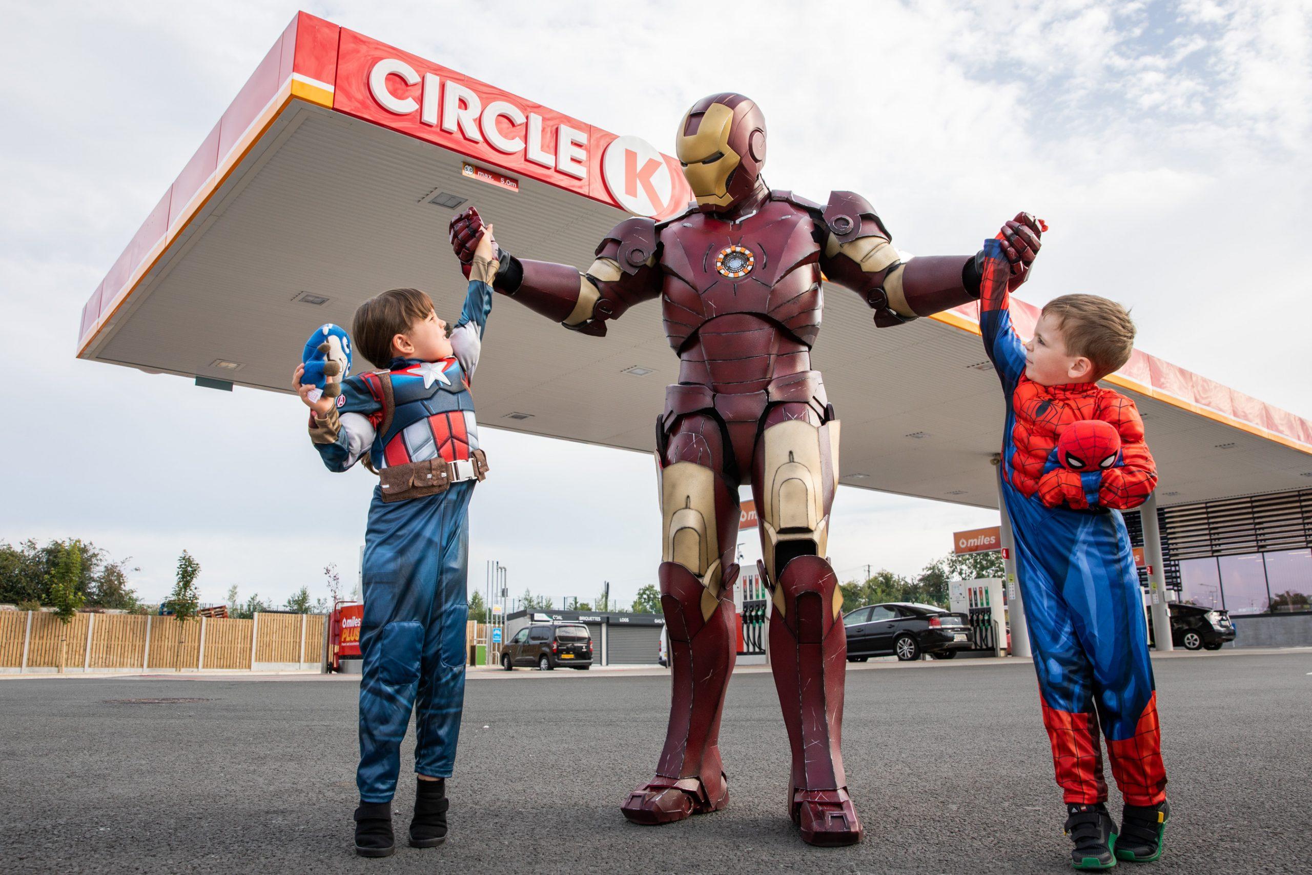 Circle K launches new MARVEL Shieldz promotion at Circle K, Park Rí, Kells